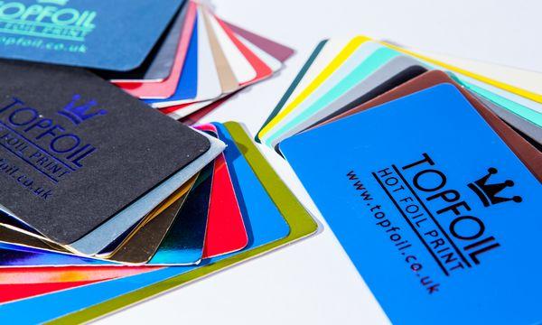 foil printed business and membership cards topfoil full colour